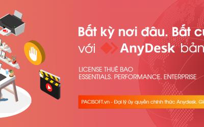 Anydesk bản quyền