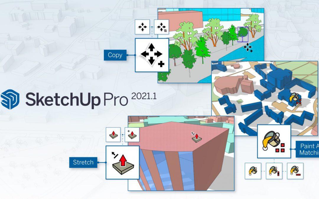 Chuẩn hóa các công cụ SketchUp trong bản phát hành mới nhất | SketchUp 2021.1