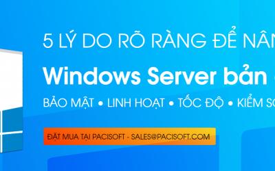 Những lý do nên nâng cấp lên Windows Server 2022
