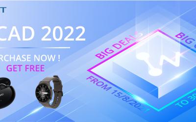 Mua bản quyền ZWCAD 2022 – Nhận ngay Huawei Freebuds 4i hoặc Smartwatch GT2
