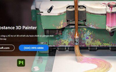 Substance 3D Painter là gì? Tìm hiểu và hướng dẫn mua bản quyền phần mềm